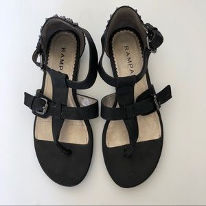 Rampage Studded Sandals